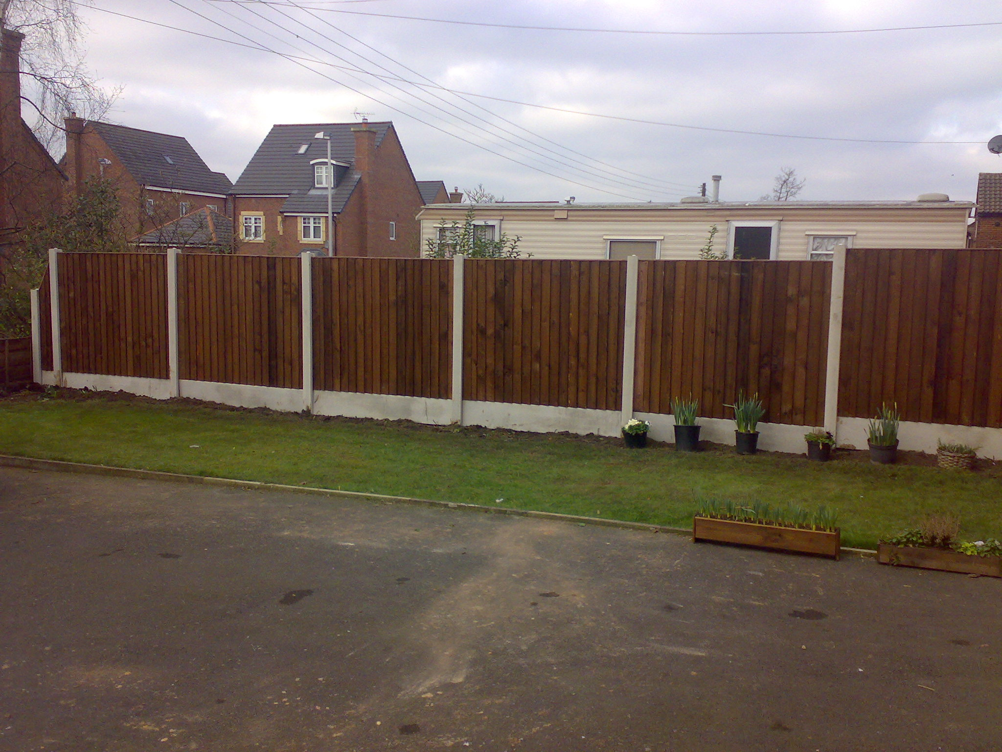 Middlewich fencing fencing in middlewich winsfordnorthwich building quality garden fences baanklon Images